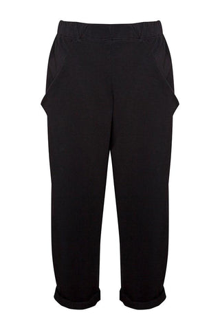 Jersey trousers Black
