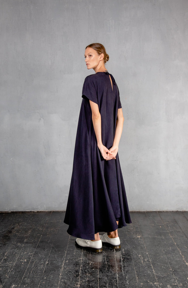 MAXI DS20 DARK Blue dress