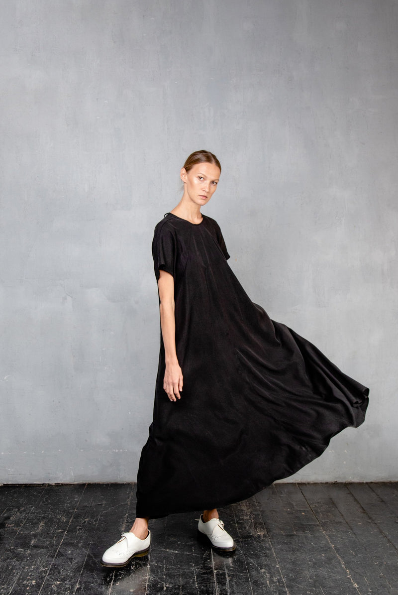 MAXI DS20 Black Dress