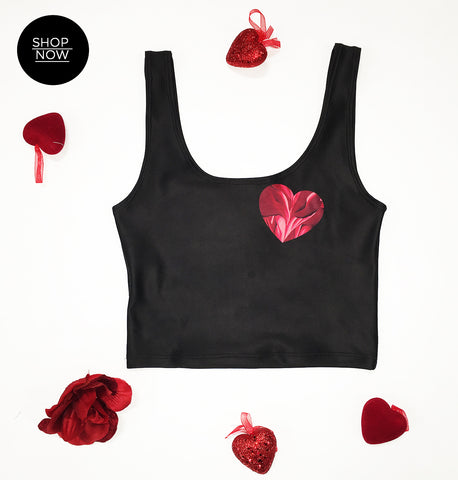 Love Me Inside & Out Crop Top