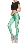 90's Leggings - Mint - POPRAGEOUS  - 2