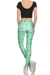 90's Leggings - Mint - POPRAGEOUS  - 4