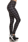 Black Grid Dream Leggings - POPRAGEOUS  - 2