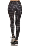 Black Grid Dream Leggings - POPRAGEOUS  - 3