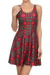 The Ultimate Tartan Skater Dress - POPRAGEOUS  - 1