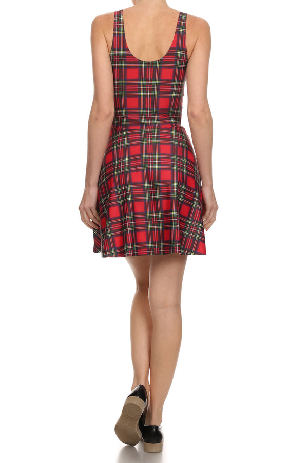 The Ultimate Tartan Skater Dress - POPRAGEOUS  - 4