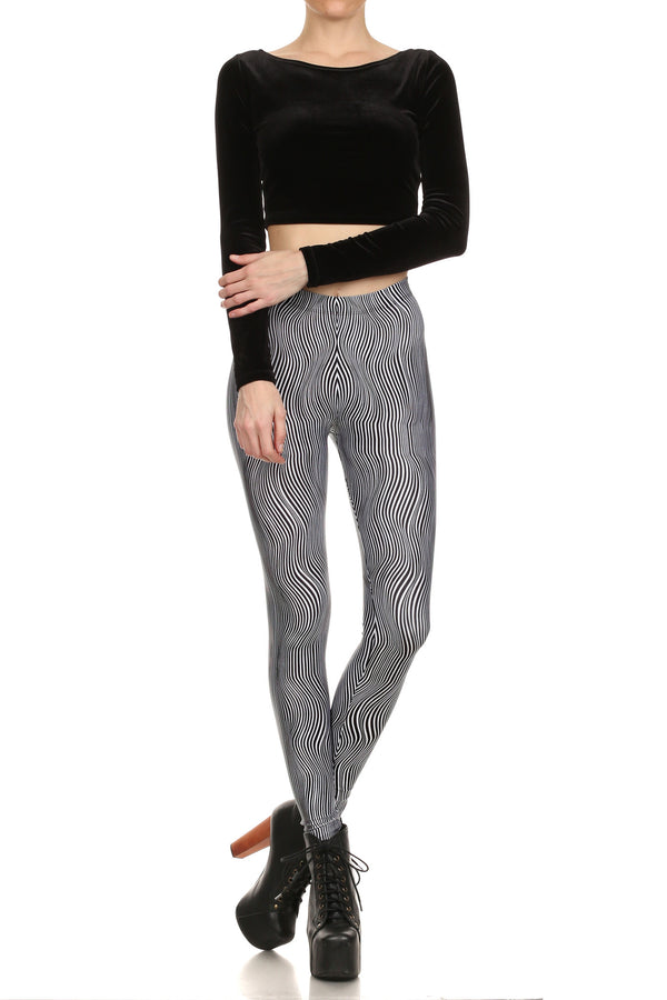 Trippy Stella Leggings - POPRAGEOUS  - 1