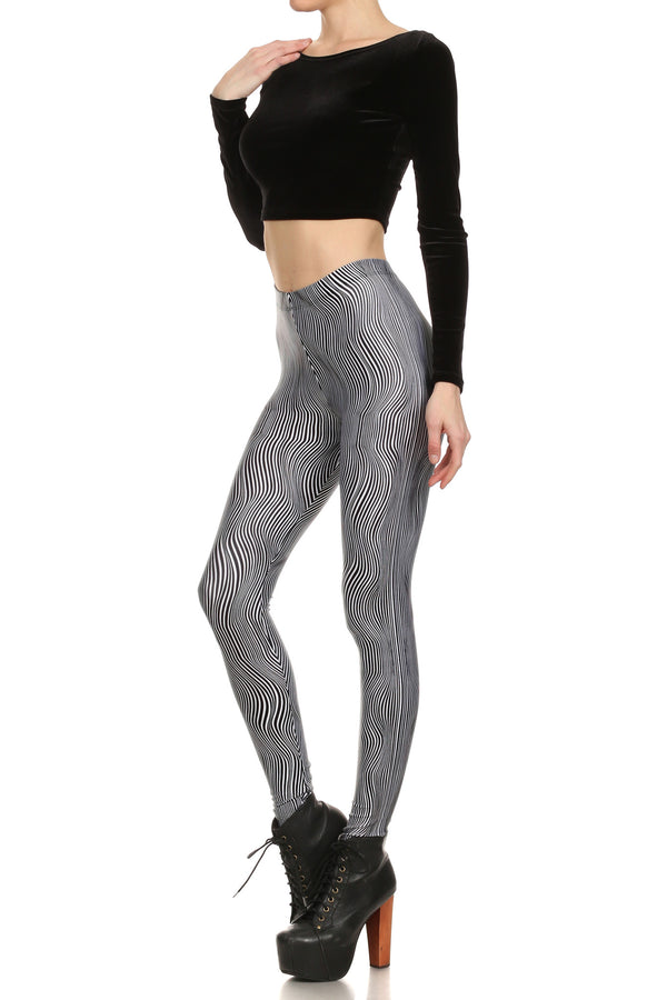 Trippy Stella Leggings - POPRAGEOUS  - 2