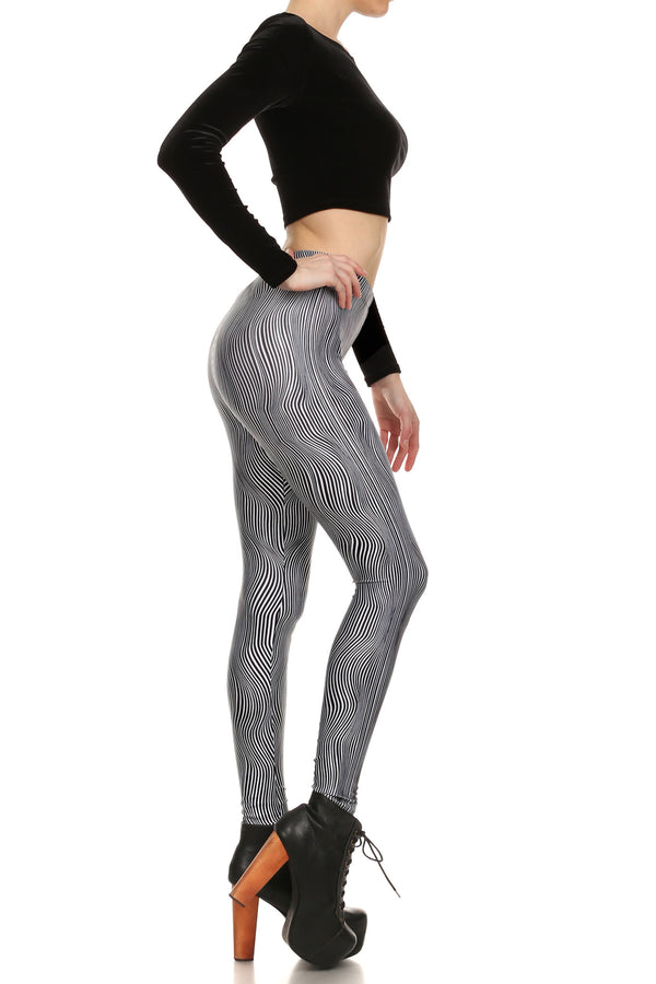 Trippy Stella Leggings - POPRAGEOUS  - 3