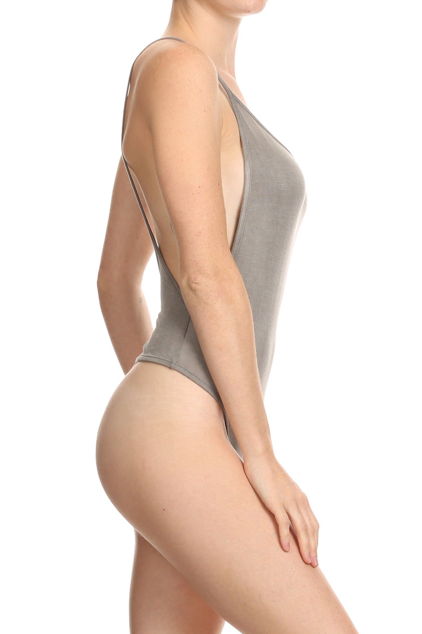 Baby Soft Heather Grey Bodysuit - POPRAGEOUS  - 4