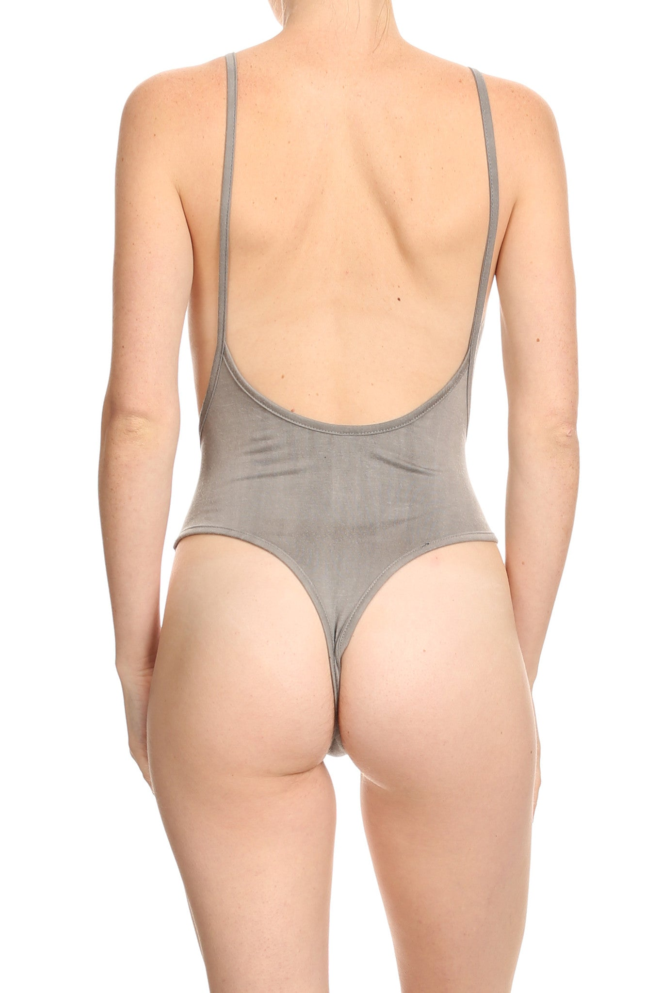 Baby Soft Heather Grey Bodysuit - POPRAGEOUS  - 5