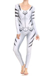 White Tiger Catsuit - POPRAGEOUS  - 1