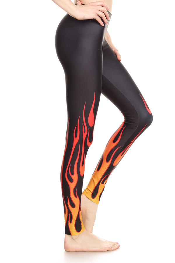 Flame Leggings