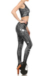 Steampunk Crop Top - Monochromatic - POPRAGEOUS  - 3