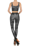 Steampunk Crop Top - Monochromatic - POPRAGEOUS  - 4