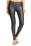 Holographic Mermaid Leggings