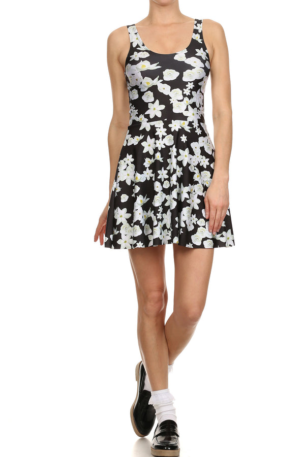 Magnolia Skater Dress - POPRAGEOUS  - 1