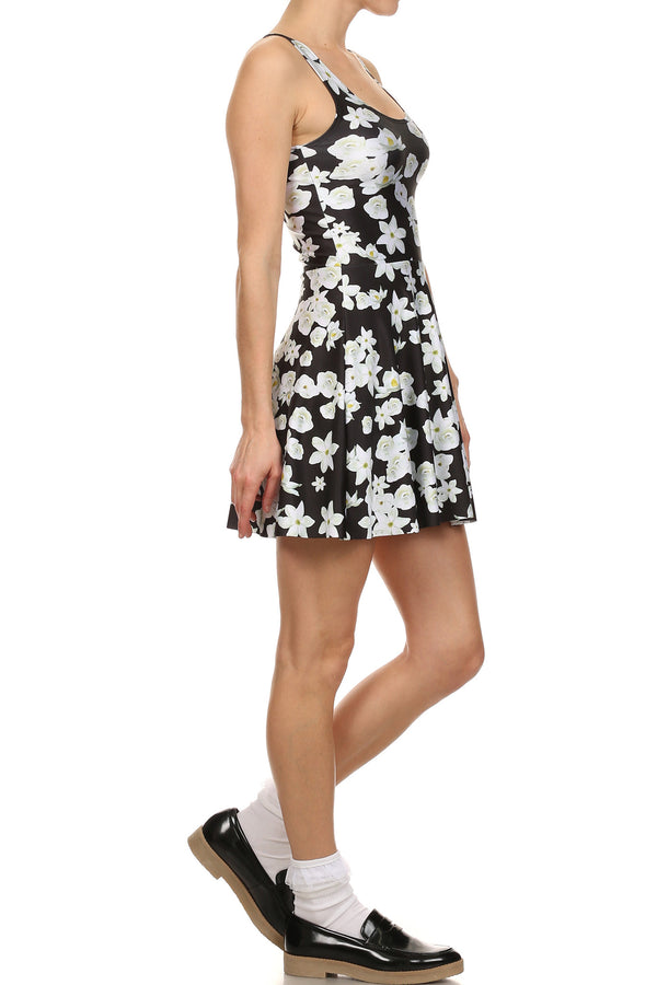 Magnolia Skater Dress - POPRAGEOUS  - 3