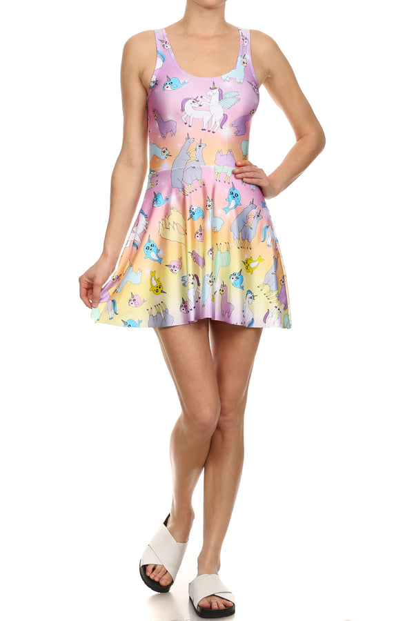 Kawaii Sex Skater Dress - POPRAGEOUS  - 1
