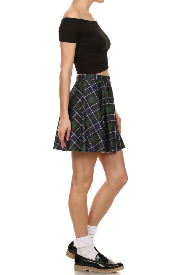 Great Scott Skater Skirt - POPRAGEOUS  - 4