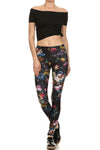 Brussel Floral Leggings - POPRAGEOUS  - 1