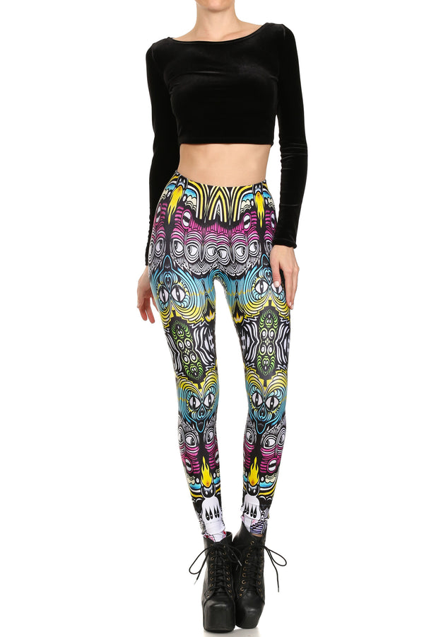 Septerhed: 2001 E 7th St Leggings - POPRAGEOUS  - 1