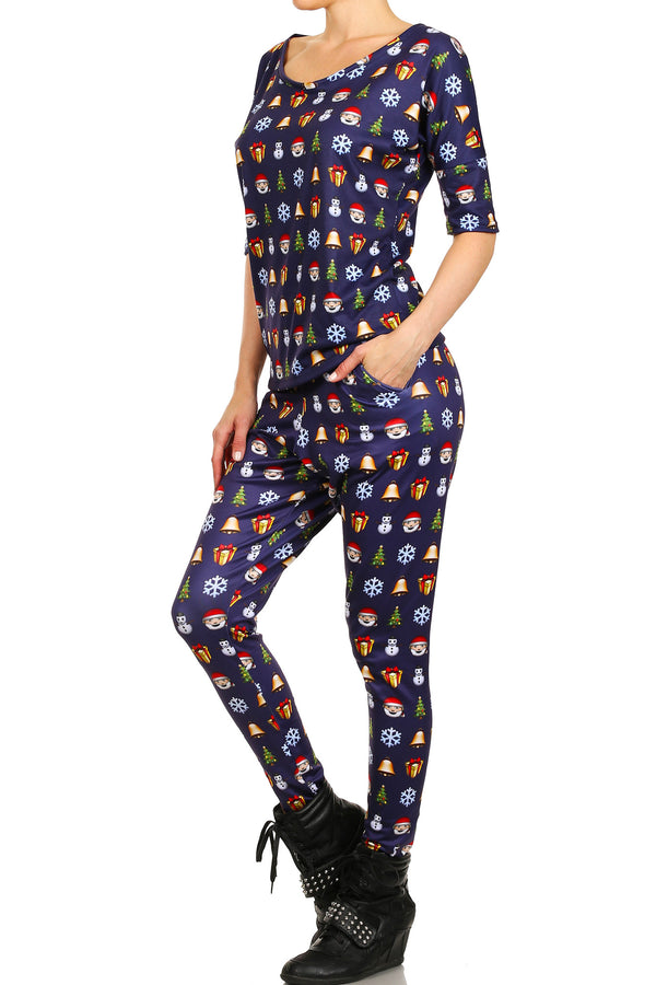 Christmas Emoji Long Shirt - POPRAGEOUS  - 2