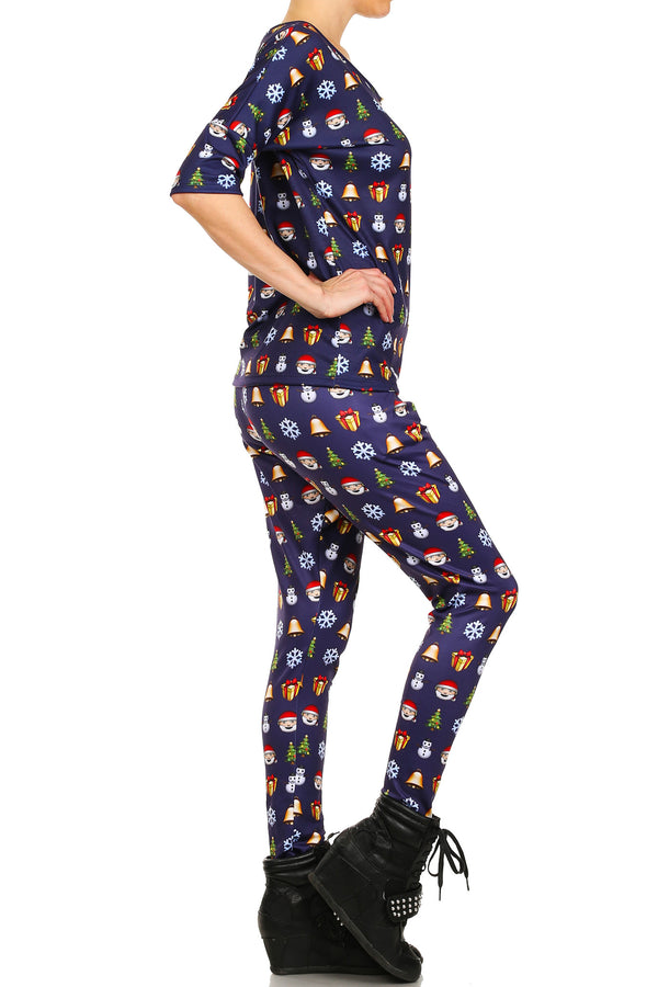 Christmas Emoji Long Shirt - POPRAGEOUS  - 3