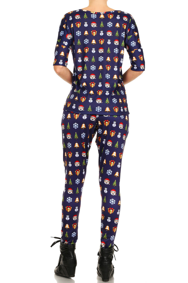Christmas Emoji Long Shirt - POPRAGEOUS  - 4