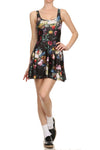 Brussel Floral Skater Dress - POPRAGEOUS  - 1