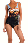 Hollywood Sign One-Piece Swim - POPRAGEOUS  - 1