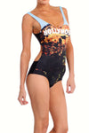 Hollywood Sign One-Piece Swim - POPRAGEOUS  - 2