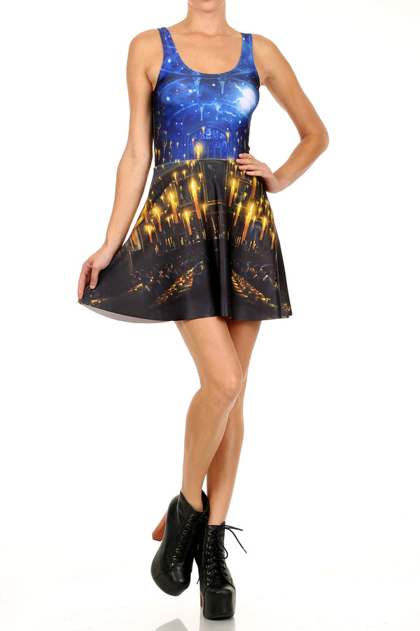 Great Hall Skater Dress - LIMITED - POPRAGEOUS  - 1