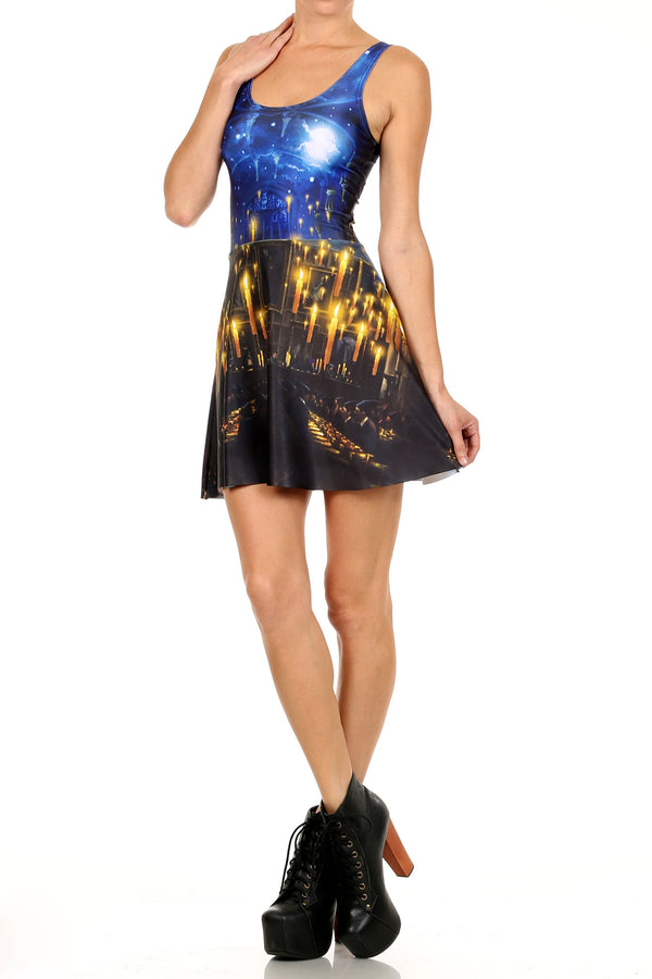 Great Hall Skater Dress - LIMITED - POPRAGEOUS  - 2