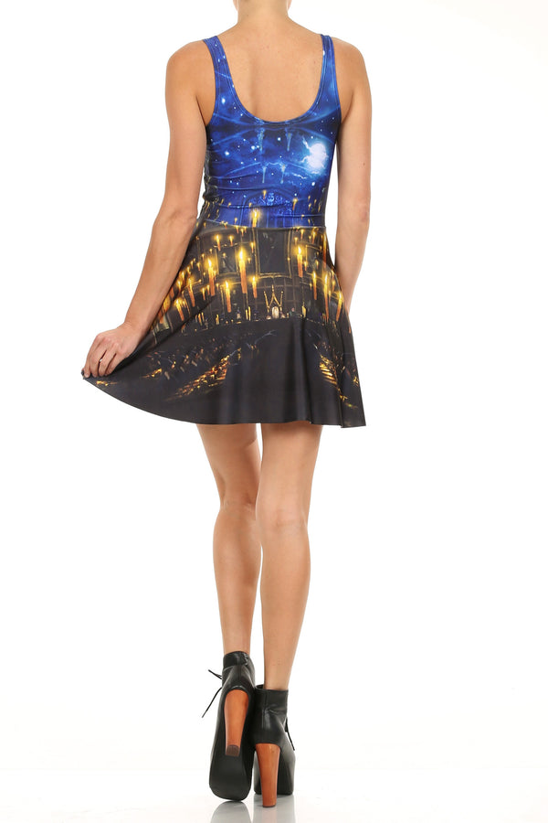 Great Hall Skater Dress - LIMITED - POPRAGEOUS  - 4