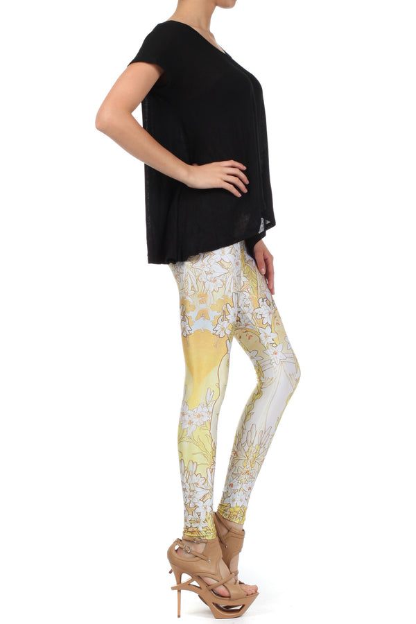 Mucha Lily Leggings - POPRAGEOUS  - 3