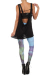 Picasso Old Guitarist Leggings - XXS - POPRAGEOUS  - 4