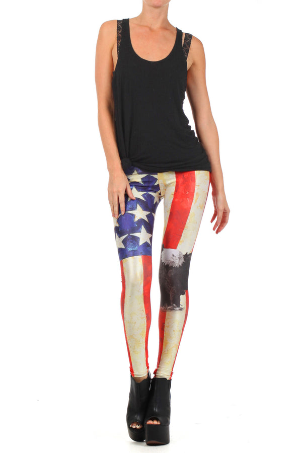 MericaFckYeah Leggings - POPRAGEOUS  - 1