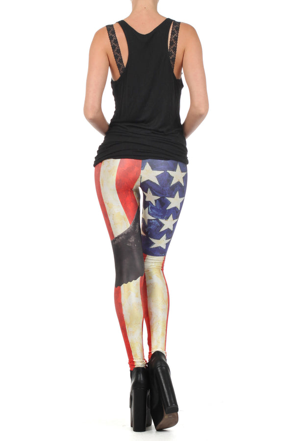 MericaFckYeah Leggings - POPRAGEOUS  - 4