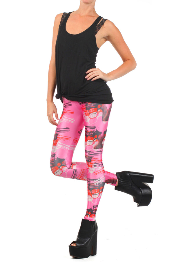 Bang Bang Leggings - POPRAGEOUS  - 2