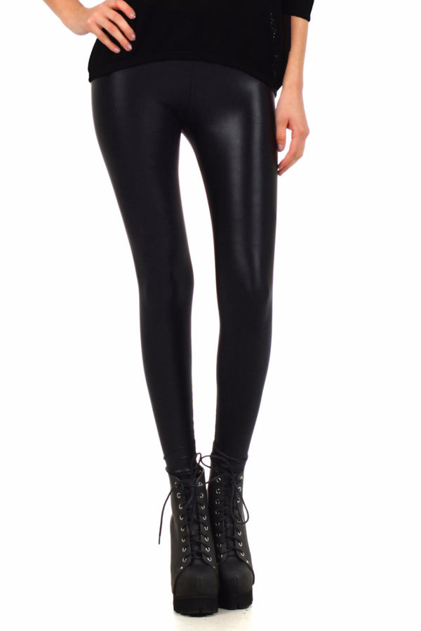 Black Wet Dream Leggings - POPRAGEOUS  - 1