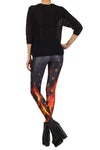 Catching Fire Leggings - POPRAGEOUS  - 4