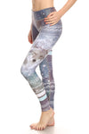 Nova Coyote Dream Leggings - Lavender - POPRAGEOUS  - 1