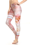 Nova Coyote Dream Leggings - Blush - POPRAGEOUS  - 1