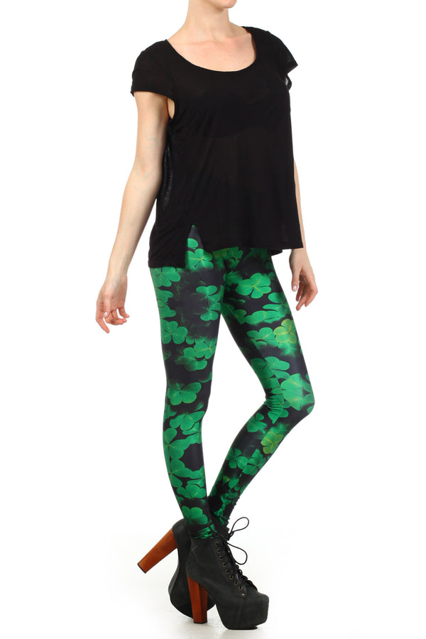 Shamrock Leggings - POPRAGEOUS  - 3