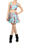 AZ Iced Tea Skater Skirt - POPRAGEOUS  - 1