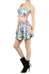 AZ Iced Tea Skater Skirt - POPRAGEOUS  - 2