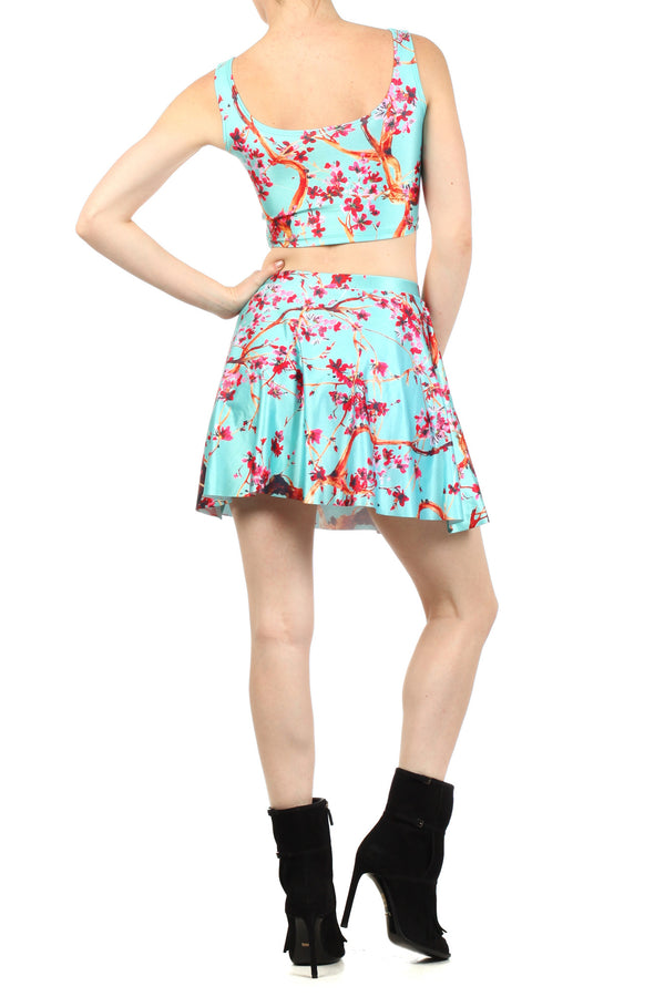AZ Iced Tea Skater Skirt - POPRAGEOUS  - 4