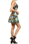 Garden of Earthly Delights Skater Dress - POPRAGEOUS  - 3