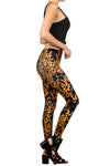 Attack of the Monarchs Leggings - POPRAGEOUS  - 3